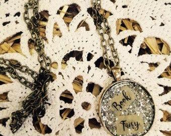 Book Fairy necklace