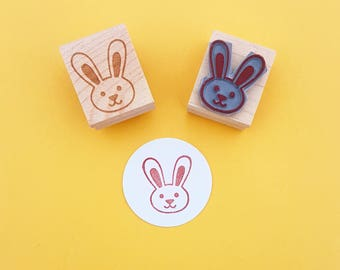 Little Easter Bunny Rubber Stamp - Easter Stamp - Easter Rubber Stamper - Rabbit Stamp - Easter Craft - Baby Stamp - New Baby - Cute Stamp