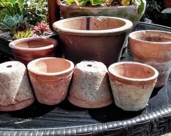 Vintage clay pots   no.6