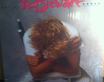 Rod Stewart Out Of Order Vinyl Rock Record Album