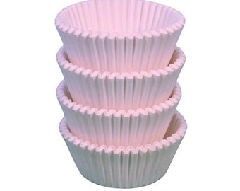 White Baking Cups - Standard Size