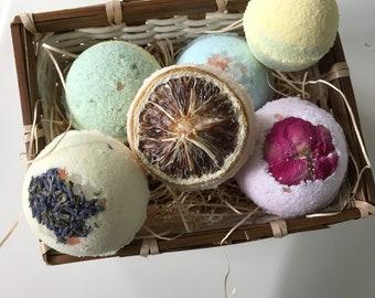 Custom Handmade Vegan Bath Bombs-Scented Bath Bombs-Custom Scent-Bath Bomb Gift-Bath fizzy-