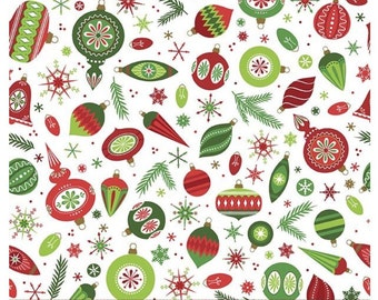 Merry Memories/Tree trimmers Fabric by Patrick Lose