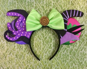 Ursula And Maleficent Villian Ears