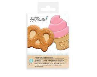 Nourriture emporte-pièces, emporte-pièce bretzel, cône de crème glacée Cookie Cutter, doux Sugarbelle emporte-pièces, Snack temps emporte-pièces