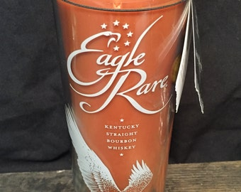 Eagle Rare Bourbon Whiskey Candle - Bourbon Bottle Candle Handmade Soy Candle, Man Candle, Bourbon Gift, Whiskey Gifts, Father's Day Gift