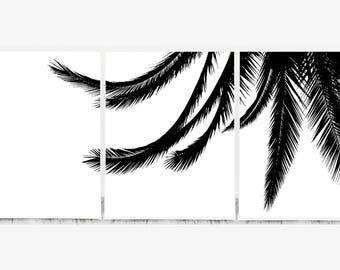 Triptych Wall Art Abstract, Set of 3 Prints Black and White, Tryptic Print, Set of 3 Abstract Print, Triptych Modern Art, Tryptic Wall Art