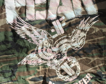 FEAR ; more beer ; cammoflage t shirt  size 2XL original