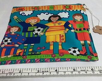 Playful soccer (football) small case