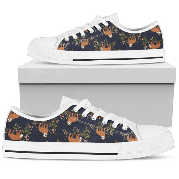 Style Sloth Shoes Women Giftt Sloth With Converse For Sneakers Sloth Shoes Sneakers Sloth Sloth Sloth Women Shoes qwf5vf