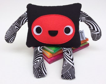Friendly Felt Monster Toy, Cute Monster Softie