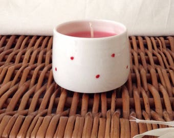 Red spot wax pot