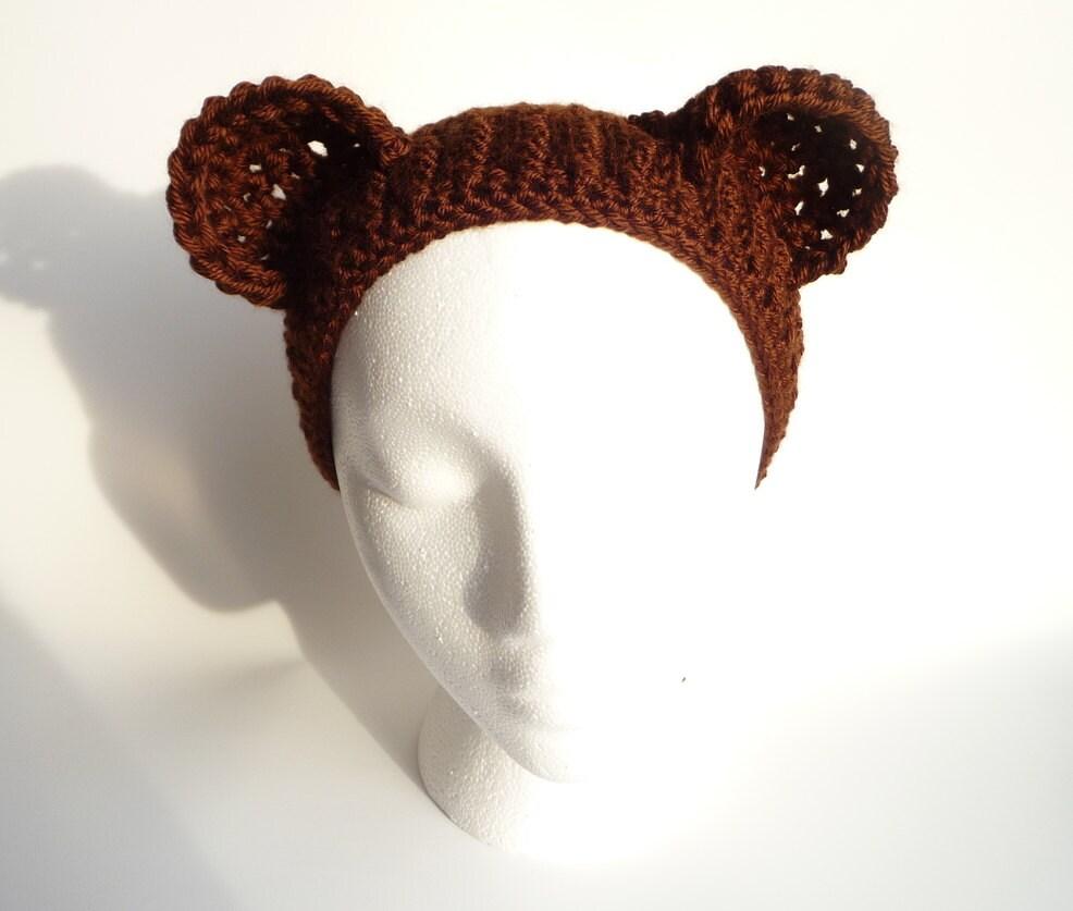 Bear hat crochet pattern teddy bear headband crochet bear hat bear hat crochet pattern teddy bear headband crochet bear hat pattern teddy bear hat adult bear hat animal hat animal headband kawaii hat dt1010fo