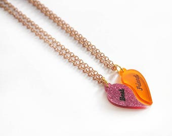 Half Heart Necklace / Love Talismans Collection
