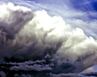 Art Photography: LAND of SKY II, nature photography, nature art, cloud photography, cloud art, sky photography, sky art, wall art, sky decor