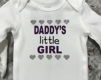 Daddy's Little Girl Onesie