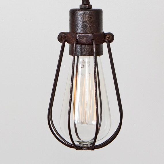 Flaschenhalter nur Oval Draht Lampe Cage Anhänger separat