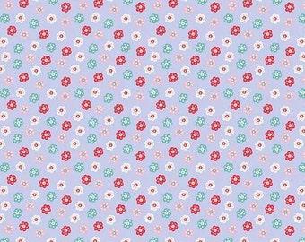 Riley Blake. Princess Dreams. Floral Purple - Cotton Fabric BTY - Choose your cut