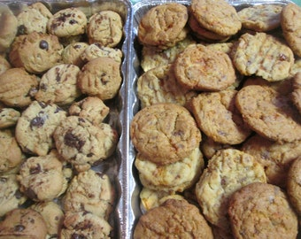 Chocolate Chip and Butterfinger Cookies  2 doz of each