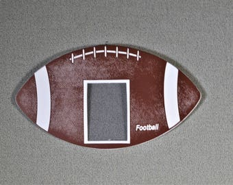 2 1/2 x 3 1/2 Photo Frame Footballl Sports Framng