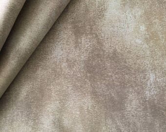 Quilt Gate Gentle  Tan Semi Solid Remnant 1.5 yard