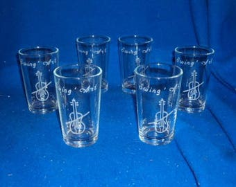 Engraved and personalized shooters
