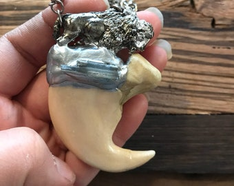 Buffalo Claw Necklace 3