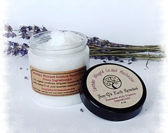 Whipped Coconut Moisturizer & Makeup Remover; Certified Organic Ingredients, Reiki-Infused