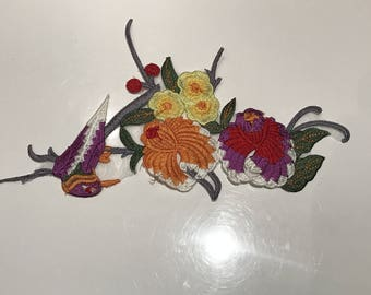 27 * 15 cm embroidery as an ornament to sew