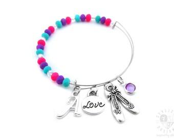Dance Bracelet, Ballet Bracelet, Ballerina Bracelet, Dance Gifts, Ballet Gifts, Ballerina Gifts, Dance Bangle Bracelet, Gifts for Dancer