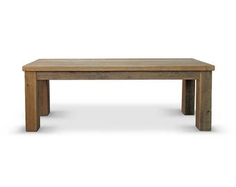 Bench, Dining Bench, Farmhouse, Reclaimed Wood, Handmade, Rustic