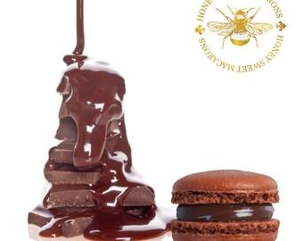French Macaron Chocolate