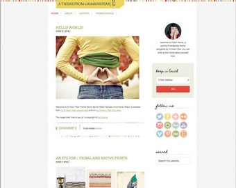 WordPress Theme - Responsive WordPress Theme - Genesis Child Theme - Blog theme template: Midori