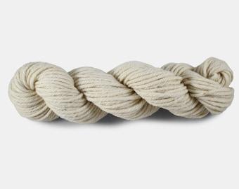 Handmade Bulky Yarn Hand UnDyed Knitting Wool Yarn Made On Sheep Farm In Prince Edward Island Canada