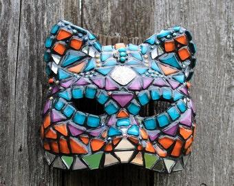 Glam Cat #1 - Sheba - Mosaic Wall Mask