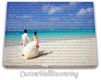 Wedding Gifts- Wedding Song Lyric Art- Anniversary Gifts- Christmas Gifts for Husband- Engagement Gift-First Dance Lyrics-Custom Song Lyrics
