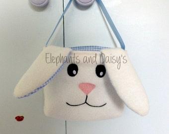 Bunny Tote Bag ITH Design file