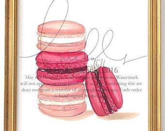 Macarons (Print)