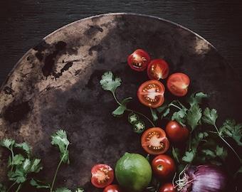 Food Photography, Still Life, Food Art, Home Decor, Tomatoes, Restaurant Decor, Wall Art, Kitchen Decor, Gift Ideas, Housewarming Gifts
