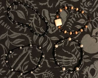 Stretchy Beaded Bracelets - Choose One