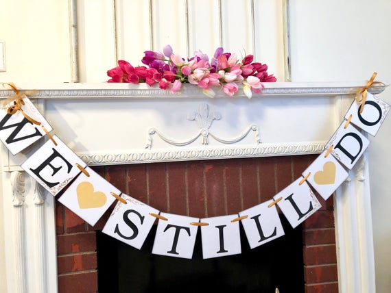 Wedding anniversary decorations 50th anniversary party