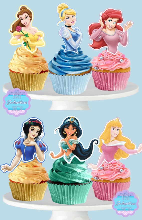 Challenger image regarding printable cupcakes toppers