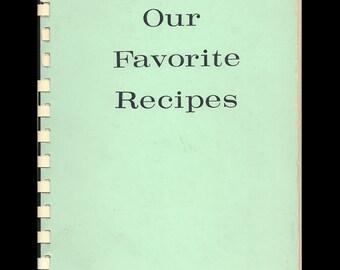 Our Favorite Recipes La Habra Woman's Club 1960s California