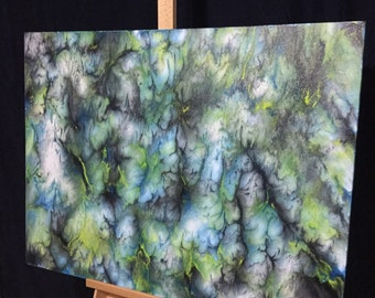 "Original Contemporary Abstract Art 30""x40"""