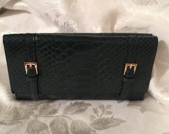 NEW-never used! Deep Olive Wallet