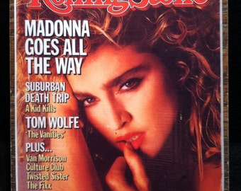 Rolling Stone Magazine Cover Magnet - Madonna 1984