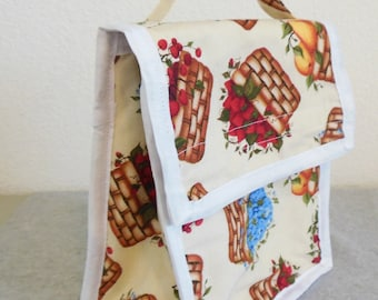 Insulated Lunch Bag - Fruit Baskets