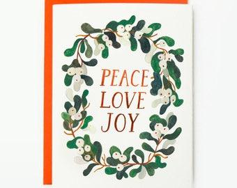 Peace Love Joy 1pc