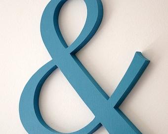 "Ampersand sign 12 "" wedding engagement decoration - photo prop"