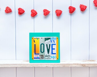 Long Distance Valentine's Day Gift, Valentine's Gift, Love Sign, gift for boyfriend, gift for girlfriend, gift for husband, gift for wife